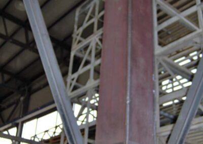 Costruzione Capriata in acciaio - Scale ferro e acciaio Lavorazione ferro e Acciaio in sardegna- Cappannoni e capriate acciaio Bonifica amianto Nuaova Sismet Srl Sassari Sardegna