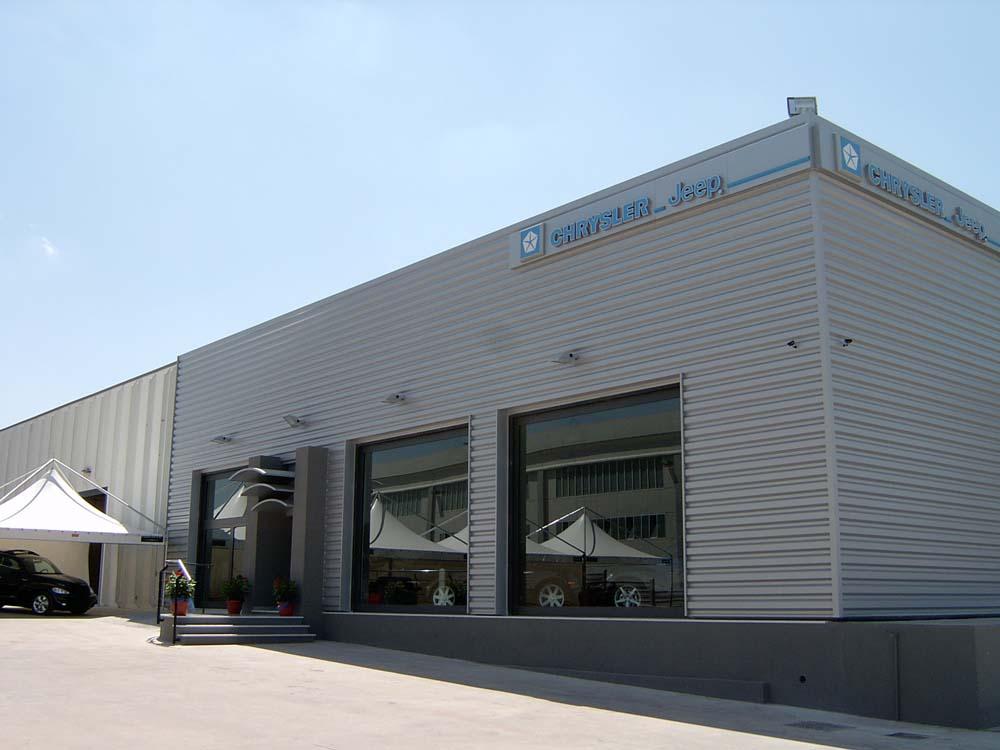 capannoni metallici in ferro e acciaio Nuova Sismet Srl Porto Torres