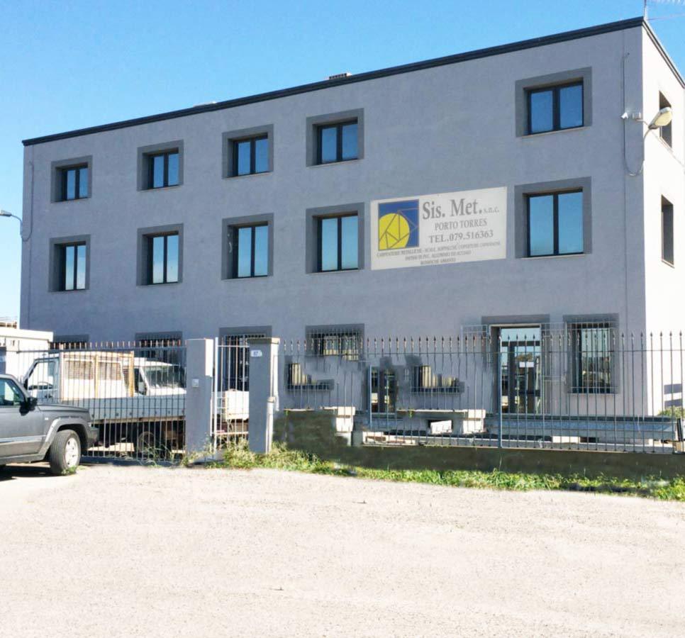Sede Nuova Sismet Srl - Porto Torres Lavorazione-ferro-scale-cappannoni-cancelli-recinzioni-bonifica-amianto-NUOVA-SISMET-PORTO-TORRES-Sardegna-1-1