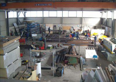 NUOVA SISMET srl | Carpenteria metallica Porto Torres