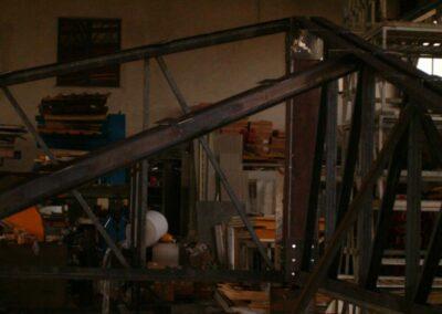 officina Carpenteria metallica lavorazione ferro e acciaio Porto Torres